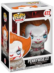 Pennywise (with Boat) (Chase-möjlighet) vinylfigur 472