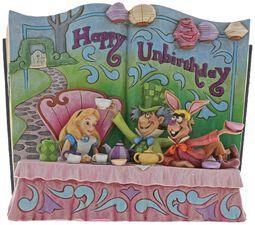 Happy Unbirthday (Storybook Alice i Underlandet Tea Party - figur)