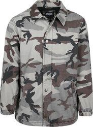 Camo Cotton Coach Jacket