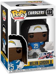 Los Angeles Chargers - Melvin Gordon lll vinylfigur 123