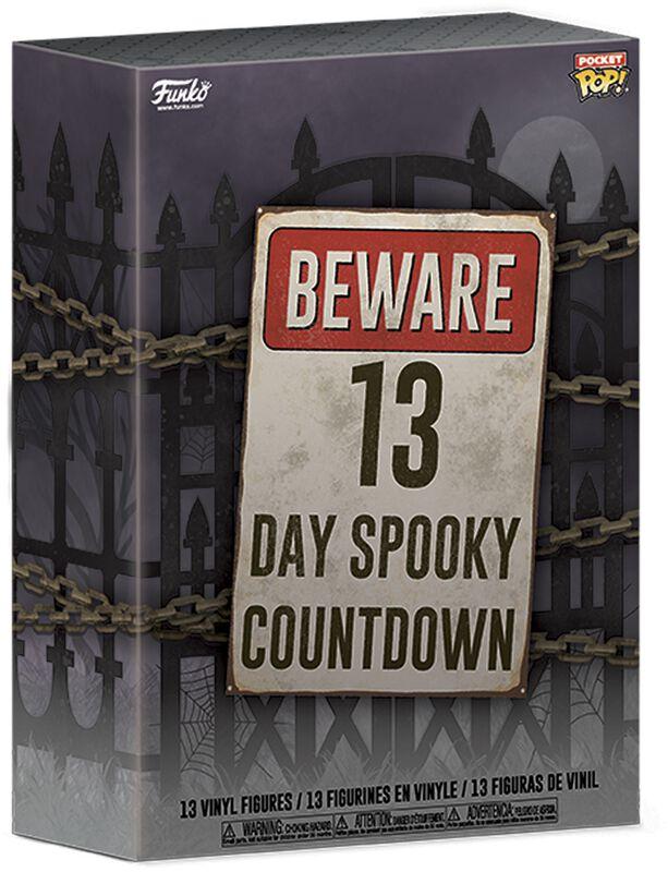 Beware 13 Day Spooky Halloween Countdown - kalender