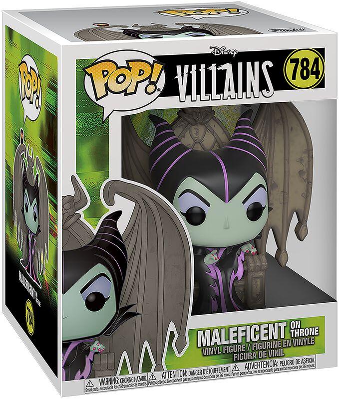 Maleficent on Throne (Pop! Deluxe) vinylfigur 784