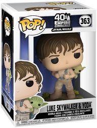 Empire Strikes Back 40th Anniversary -  Luke Skywalker & Yoda vinylfigur 363