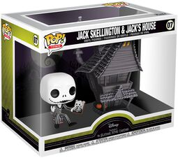 Nightmare Before Christmas Jack Skellington and Jacks House - vinylfigur 07