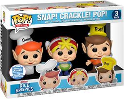 Kellogg's Snap Crackle Pop - Rice Krispies (3-pack) (Funko Shop Europe)
