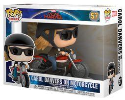 Carol Danvers on Motorcycle Pop Rides vinylfigur 57