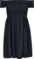 Ladies Smoked Off Shoulder Dress