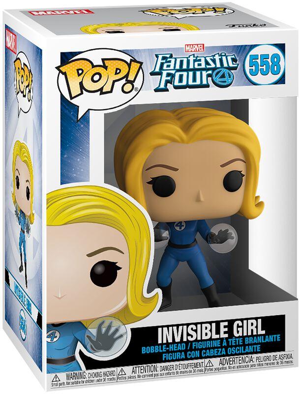 Invisible Girl vinylfigur 558