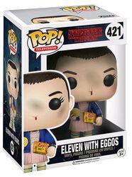 Eleven with Eggos (Chase-möjlighet) vinylfigur 421
