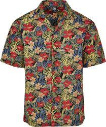 Aloha Pattern Resort Shirt