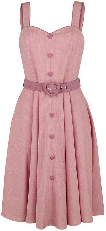 Frenchie Flare Halter Dress