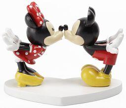 Minnie & Mickey Kissing