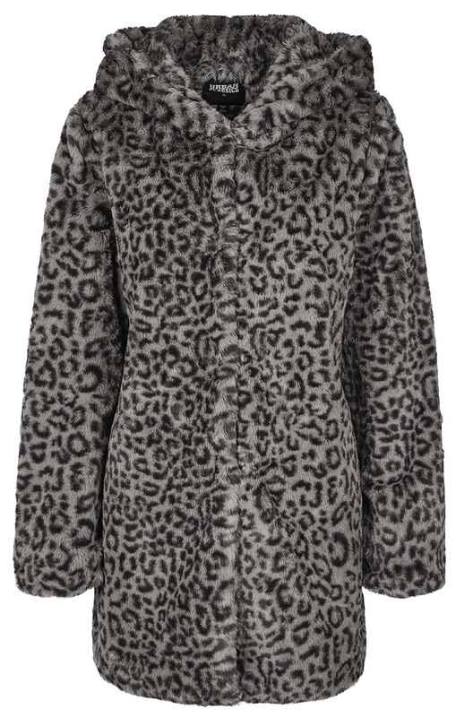 Ladies Leo Teddy Coat