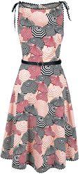 Bettie Parasol Print Dress