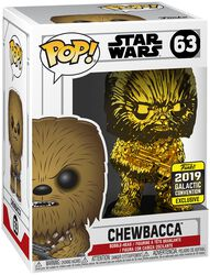 Star Wars Celebration 2019 - Chewbacca (Chrome) vinylfigur 63