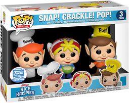 Kellogg's Snap Crackle Pop - Rice Krispies (3-pack) (Funko Shop Europe)