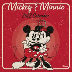 Mickey & Minnie - 2022 - Kalender