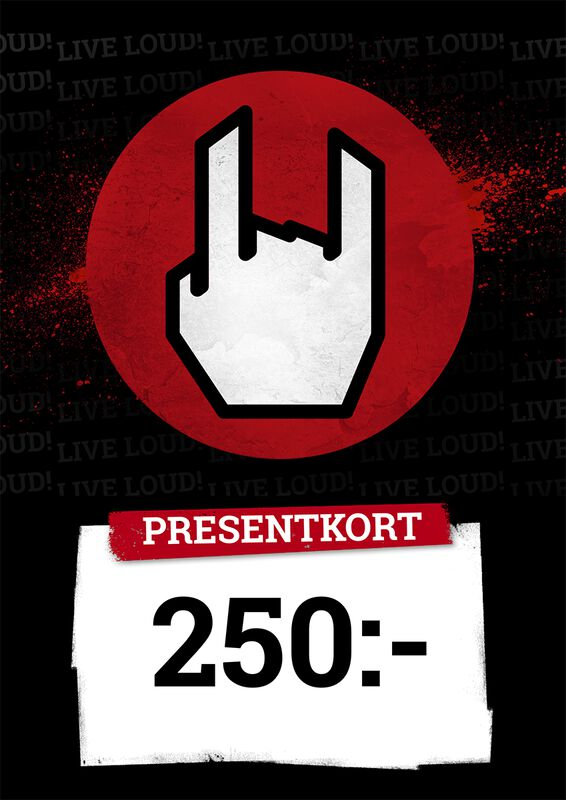 Presentkort 250,00 SEK