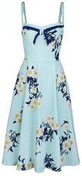 Vintage Blue Daisy Dress