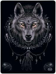 Wolf Dreams fleecefilt