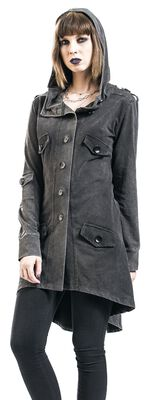 Front Button Sweat Coat