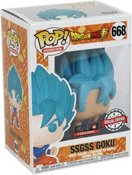 Super - SSGSS Goku vinylfigur 668