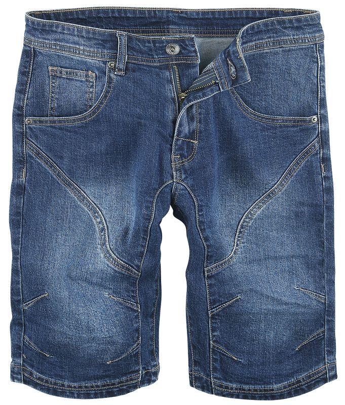 Seamed Knee Short