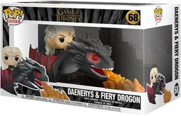Daenerys and Fiery Drogon POP Rides vinylfigur 68