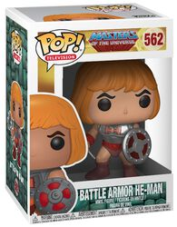 Battle Armor He-Man vinylfigur 562