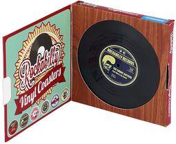 Vinyl glasunderlägg Rockabilly