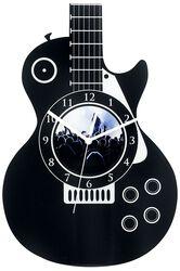 Väggur i akryl Guitar
