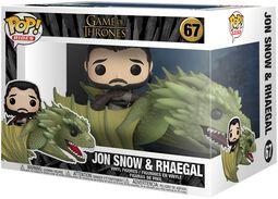 Jon Snow and Rhaegal (Pop Rides) vinylfigur 67