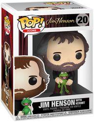 Jim Henson with Kermit vinylfigur 20