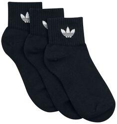 Mid Ankle Socks 3-Pack