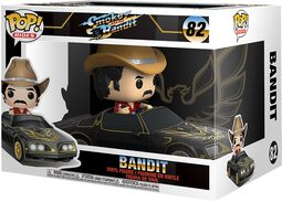 Smokey and the Bandit Bandit in Trans Am (POP Rides) vinylfigur 82