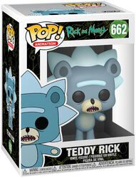 Teddy Rick (Chase-möjlighet) vinylfigur 662