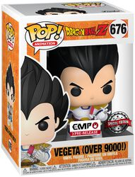 Z - Vegeta (Over 9000!) vinylfigur 676