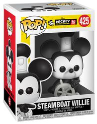 Musses 90-årsjubileum - Steamboat Willie vinylfigur 425