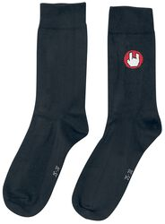 Svarta strumpor med EMP-logo