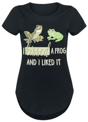 Prinsessan och grodan I Kissed A Frog And I Liked It