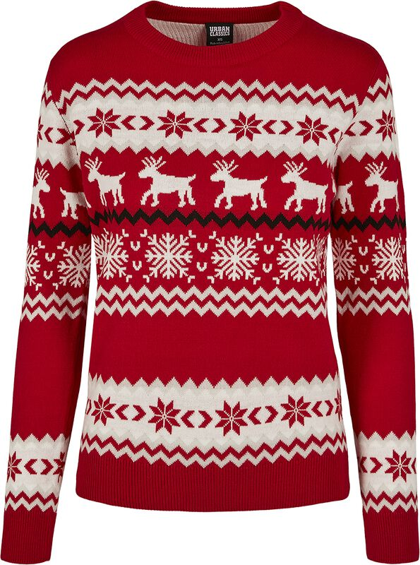 Ladies Norwegian Christmas Sweater