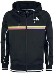 Playstation Colour Stripe Print