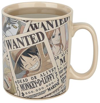 Wanted - Heat-Change Mug