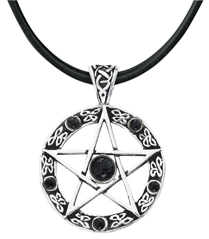 Pentagram - svart