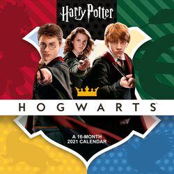 2021 Väggkalender - Hogwarts