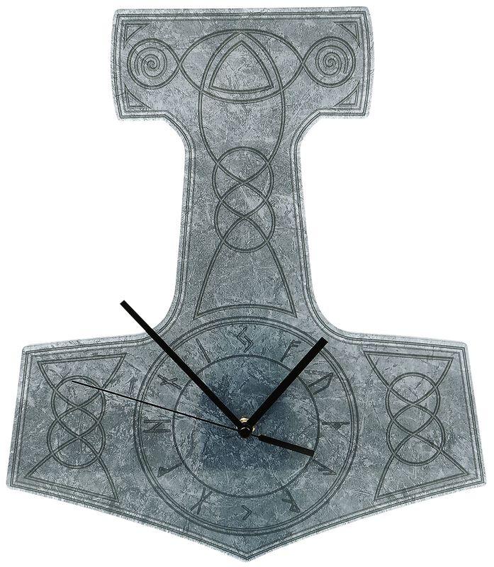 Väggur i akryl Thor's Hammer