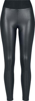 Ladies Faux Leather High Waist Leggings