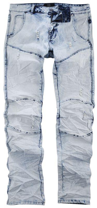Jared - Jeans i skrynklad stil