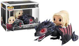 Daenerys Targaryen & Drogon - vinylfigur 15
