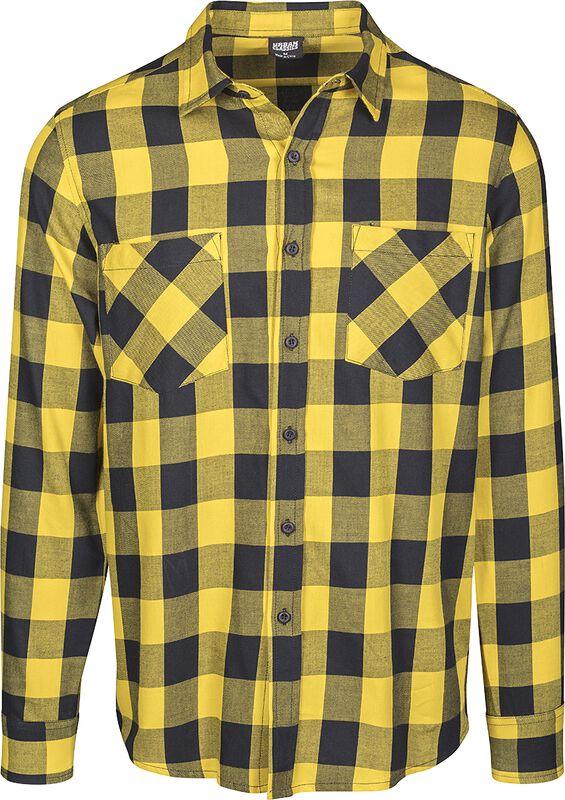 Rutig flanellskjorta